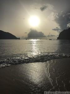 Charlotteville sunset Tobago