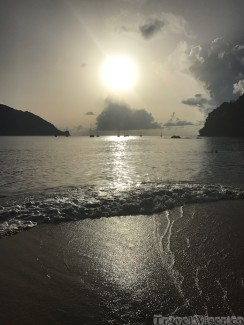 Charlotteville sunset Tobago