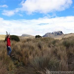 Hiking at Cruz Loma, TeleferiQo Quito