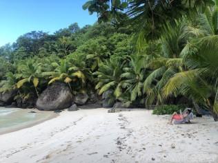 La Belle Tortue beach, Silhouette Island