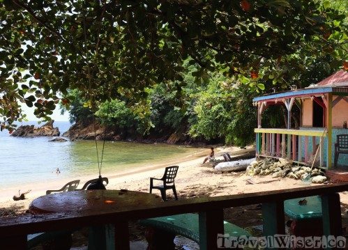The Boathouse on Castara beach, Tobago
