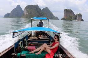 Phang Nga Bay longtail boat trip