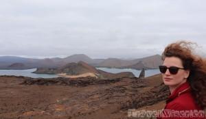 Isla Bartolome landscape, Galapagos Islands