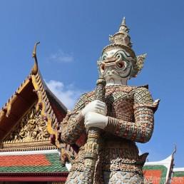 Yaksha guardian at Wat Phra Kaew Bangkok