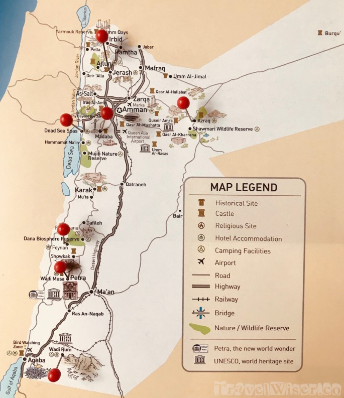 Jordan-Road-Trip-Itinerary-Map
