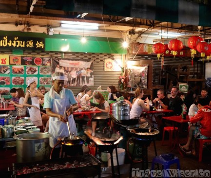 Chinatown street food, Bangkok