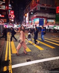 Causeway Bay night crowd