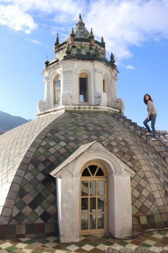 Climbing Iglesia de la Compania de Jesus Quito