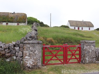 Traditional houses on Inishmore, Aran Islands