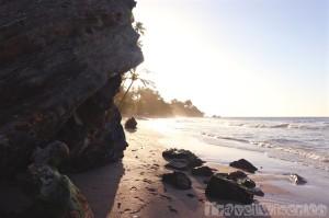 Idyllic Marianne beach Trinidad