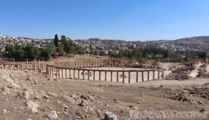 Oval Plaza, Jerash Jordan