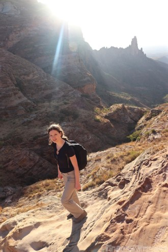 Hiking to Maryam Korkor Tigray