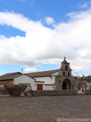 La Balbanera church, Colta