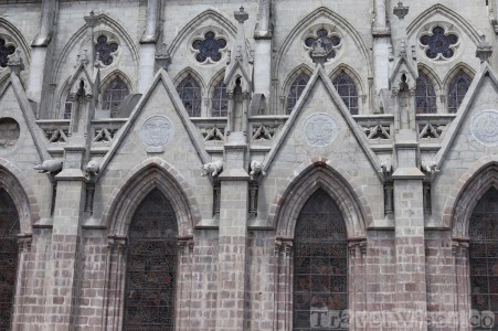 Basilica del Voto Nacional gargoyles, Quito